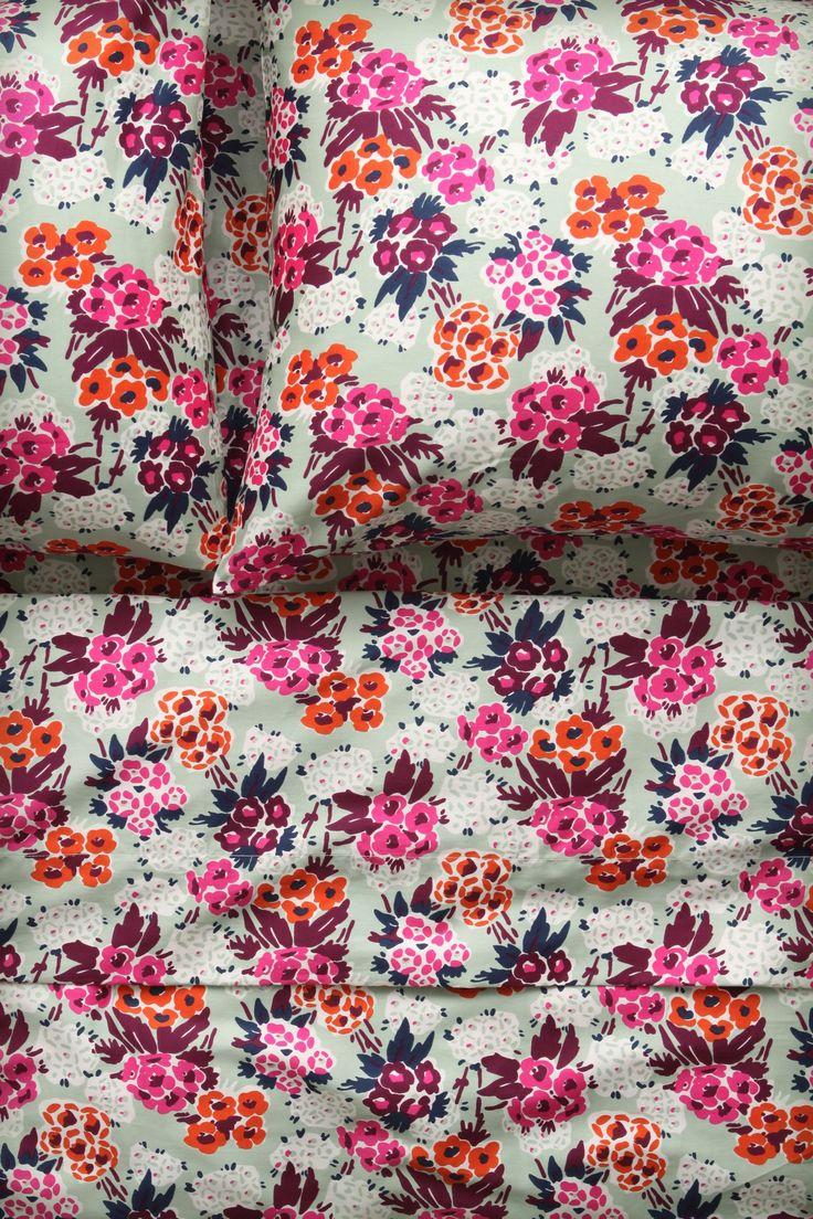 Nosegay Sheet Set - Anthropologie.com  #FlowerShop
