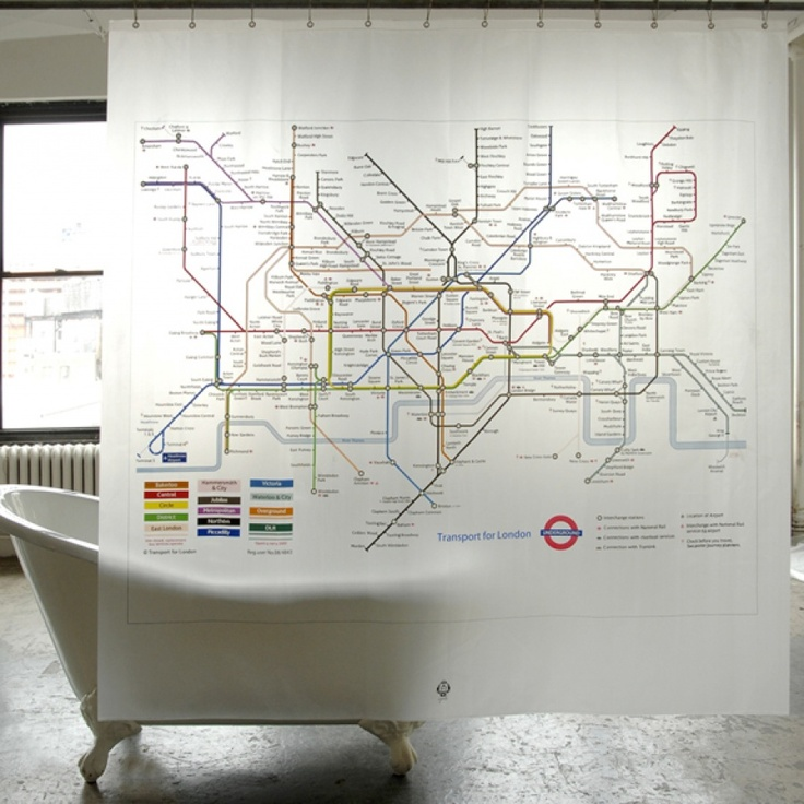 How awesome is this London tube map