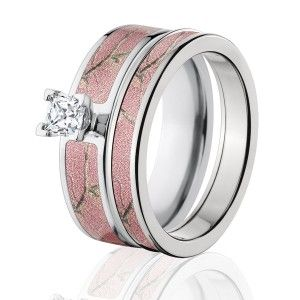 17 Best ideas about Camouflage Wedding Rings on Pinterest