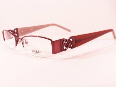 Designer+Eyeglass+Frames+for+Women | New ladies womens designer glasses frames,GUESS,GU 1574 BU BURGANDY 51
