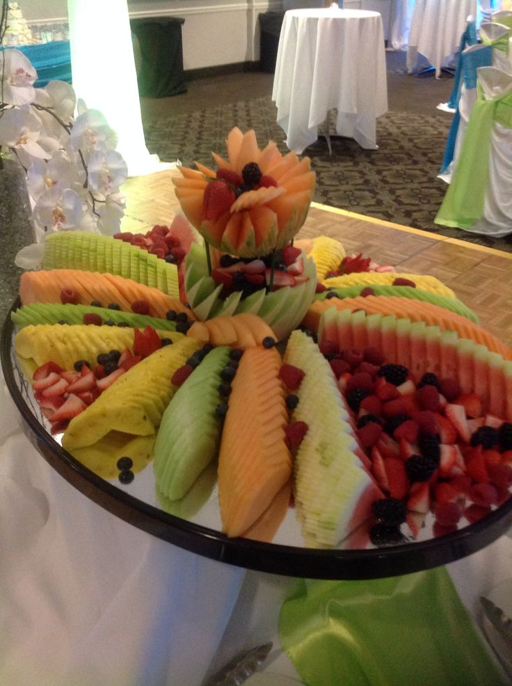Canadian Honker Events at Apace; Rochester, MN #fruitdisplay #wedding