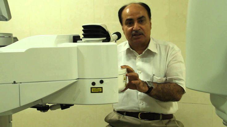 Introduction of eye surgery machines at Visual Aids Centre by Optometrist Vipin Buckshey