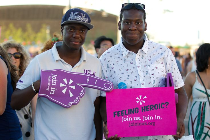 Feeling heroic? Massive thank you to the Local Heroes for all their support! Visit www.joininuk.org for more information on volunteers