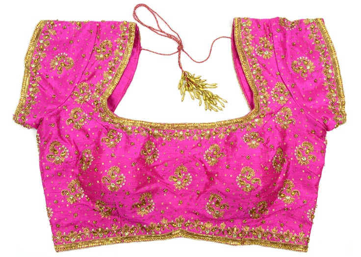 Latest arrival blouse for women's ....specially designed for wedding occassion.....Available at-> http://www.indianweddingsaree.com/BlouseProduct/15034.html