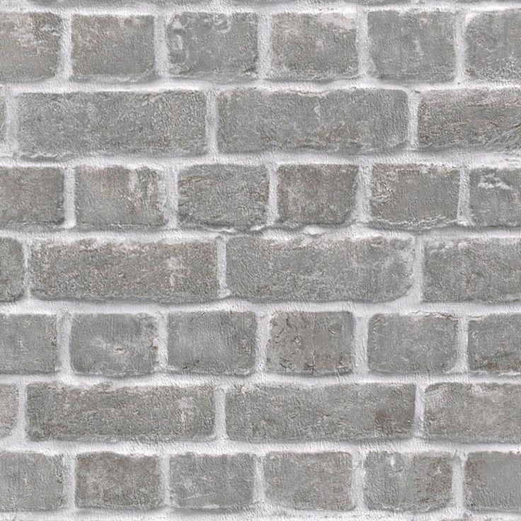 17 mejores ideas sobre ladrillo gris en pinterest for Papel pintado piedra gris