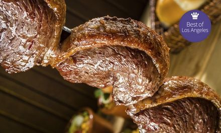 A Gaucho Feast for Two People Redeemable Sunday - Friday - Samba Brazilian Steakhouse