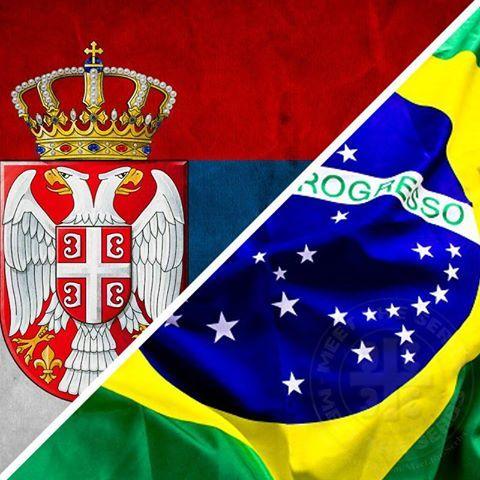 flags serbia