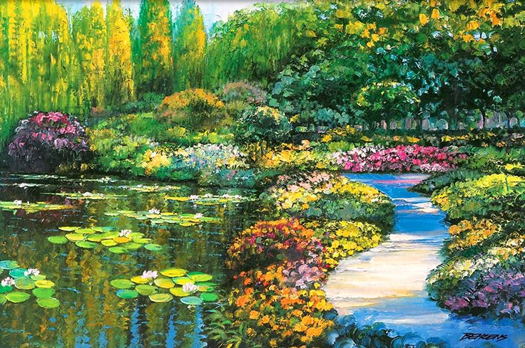 Howard Behrens - Monet's Garden