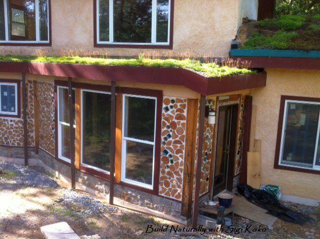 Sigi Koko Cordwood Greenhouse solar room2