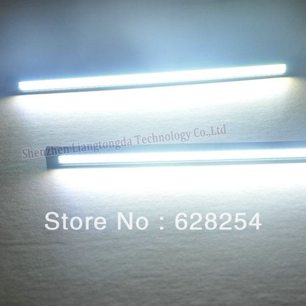 Universal COB LED DRL Flexible LED drl flexible cob led drl waterproof DC12 16V input voltage