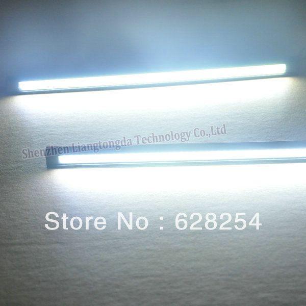 Universal COB LED DRL Flexible LED drl flexible cob led drl waterproof DC12 16V input voltage