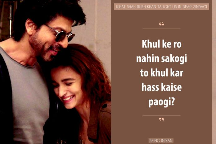 Image result for bollywood quotes from dear zindagi
