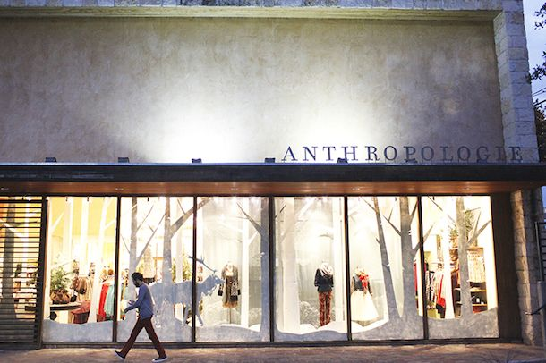 Holiday crafting at anthropologie anthropologie holiday for Anthropologie store decoration ideas