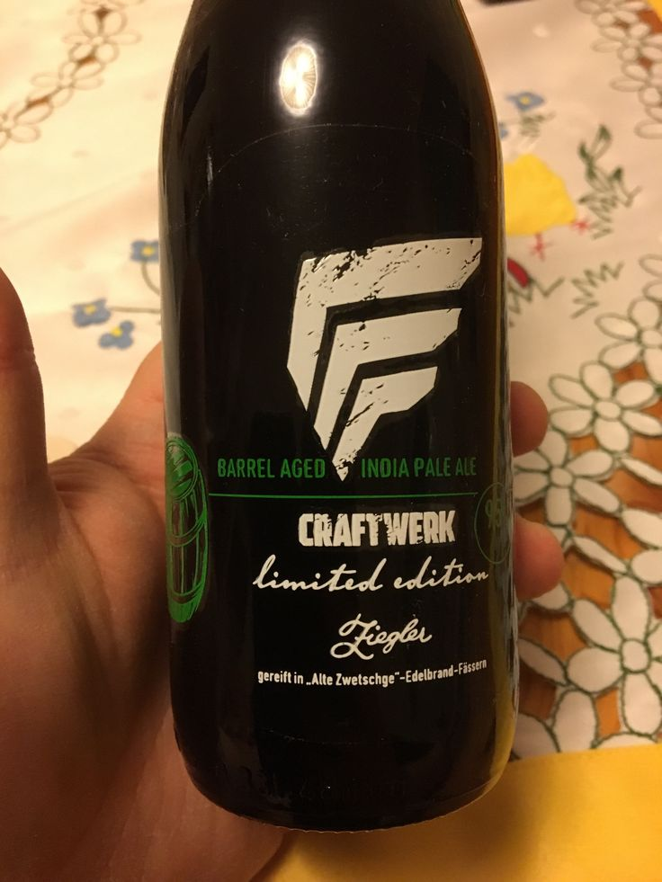 Craftwerk Brewing – Barrel Aged India Pale Ale (Limited Edition)