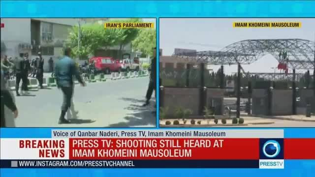 Press TV: Shooting still heard at Imam Khomeini Mausoleum