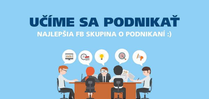 Staňte sa členmi FB skupiny