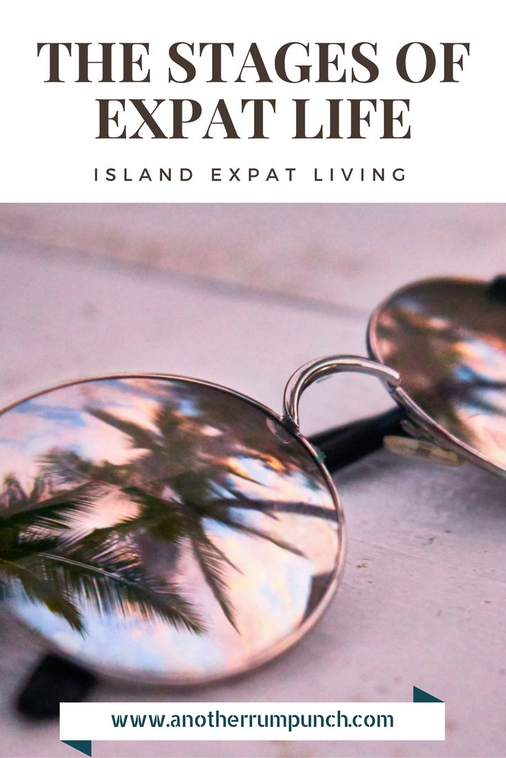 expat life stages