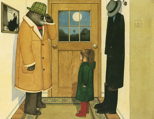 art, illustration, // anthony browne