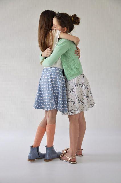 LOTTA - gratis rokjes patroon voor tricot stof - Emma en Mona