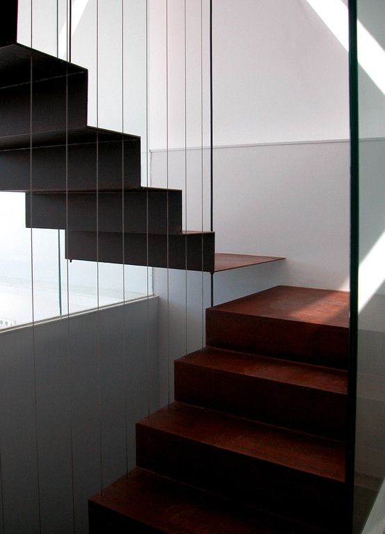 #staircase // Vivienda unifamiliar, Port de la Selva - Blancafort + Reus Architects