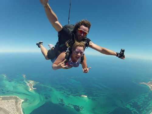 Tandem Skydive Photo in Jurien Bay - Curtsey of http://www.pinnaclesholidaypark.com.au/activities