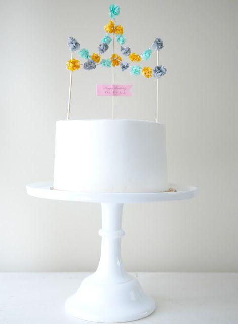 Vie de Vic: Cake Toppers