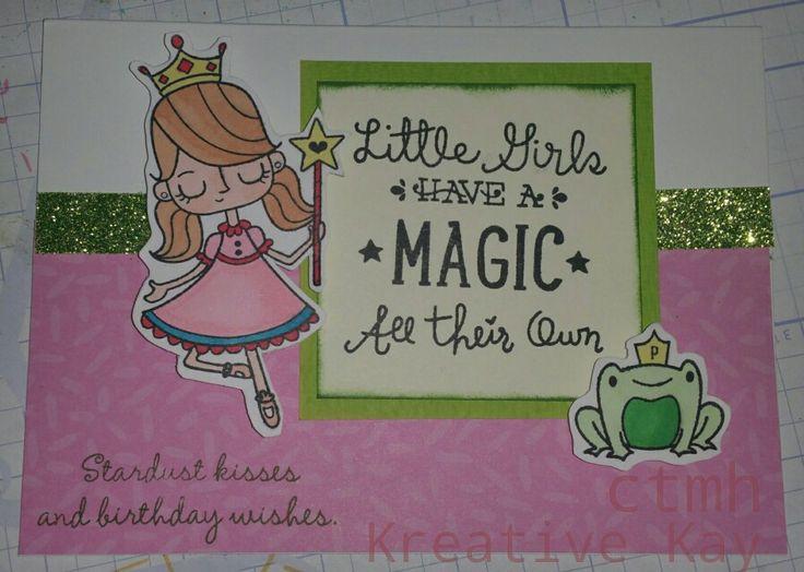 Birthday Princess CTMH - Kay Sutcliffe http://kreativekay.ctmh.com.au/