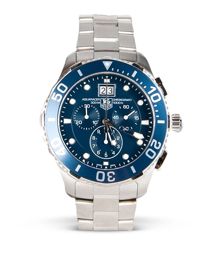 Timmermans Jewellers Tag Heur Aquaracer Series Gents Chronograph Watch $3,400