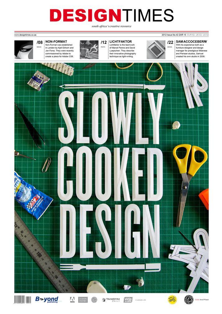 DESIGNTIMES Magazine cover 1 (Print) by Lo Siento Studio, Barcelona