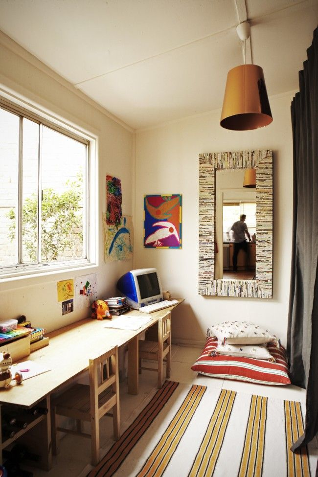 A Colourful And Artistic Interior For Designers Own Home