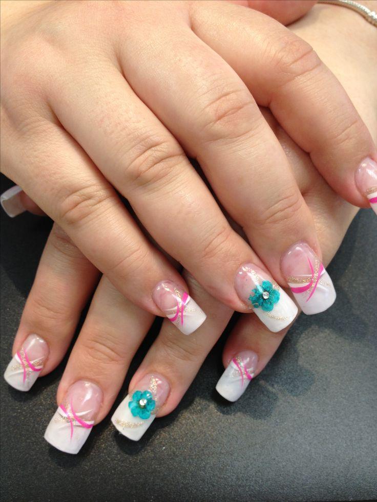 Ombré solar nails in silver sparkle. Love! | Style ...  |Clear Solar Nails