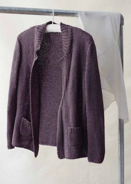 Knitting Pattern Cotton Cardigan : 109 best images about Sweater Knitting Patterns on Pinterest Knitting ideas...
