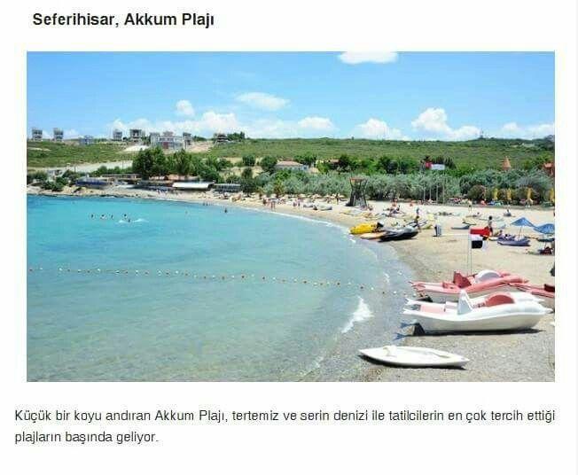 Seferihisar, Akkum Plaji