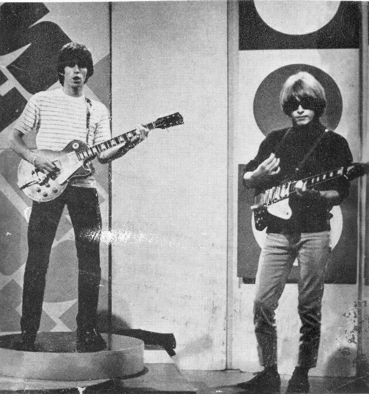 Keith Richards and Brian Jones
