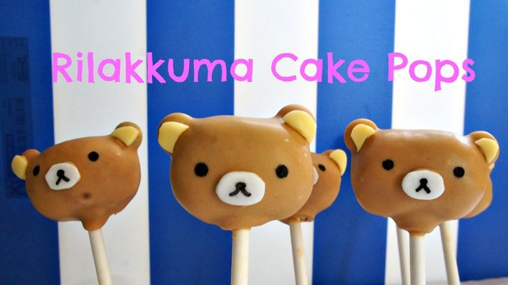 Learn how to make Rilakkuma cake pops from start to finish and how to turn them into sweet gender-reveal cake pops perfect for a baby shower, on this Emmymad...