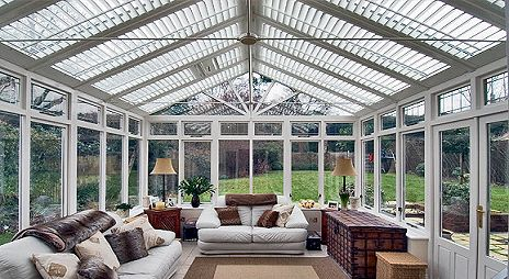 Building a gorgeous conservatory is a great way to improve your home.