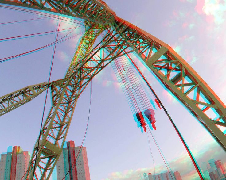 https://flic.kr/p/21CCbBR | Simson Rotterdam 3D | anaglyph stereo red/cyan