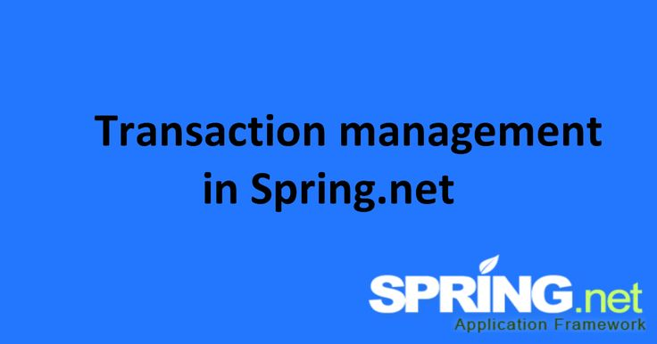 Transaction management in Spring.net provides following main benefits as custom software development companies  :     Provides a straig... #CsharpCompanyIndia #WebDevelopmentCompanyIndia #ApplicationDevelopmentCompanyIndia