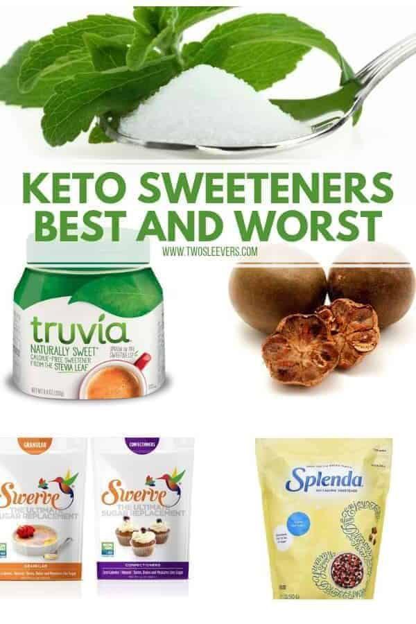Keto Sweeteners : Best And Worst