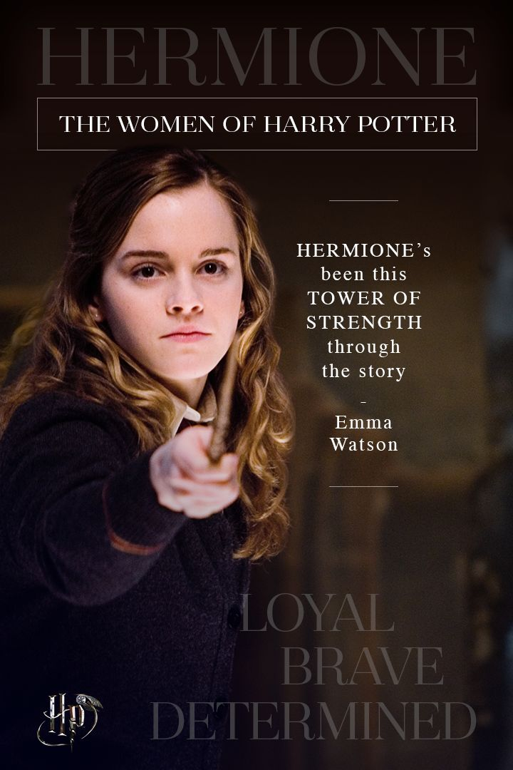 Emma Watson on the enduring strength of Hermione | Celebrate International Women's Day with quotes from the women of the wizarding world