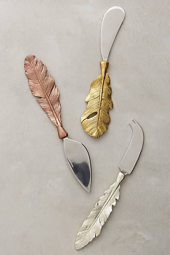 Langholm Cheese Knives-anthropologie  {pinned by Diane EvansIslas}
