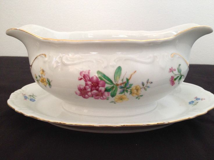 A personal favourite from my Etsy shop https://www.etsy.com/uk/listing/239941688/vintage-winterling-bavaria-gravy-boat