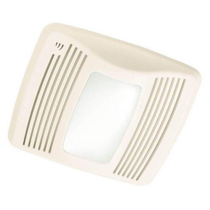 Broan-Nutone QTXEN110SFLT Ultra Silent Bathroom Fan / Light / Night-Light - ENERGY STAR - QTXEN110SFLT