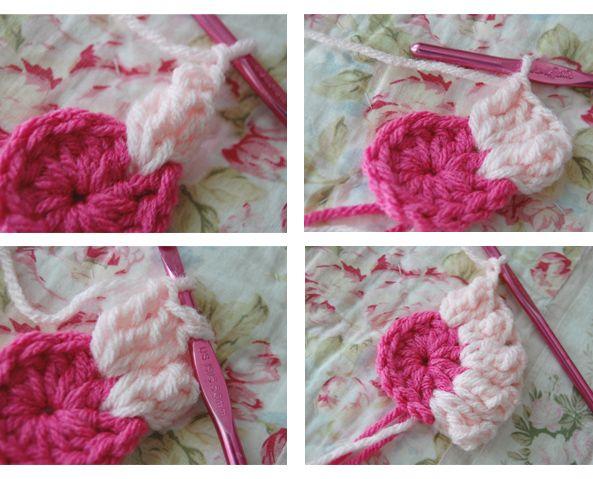 how to: crochet daisy