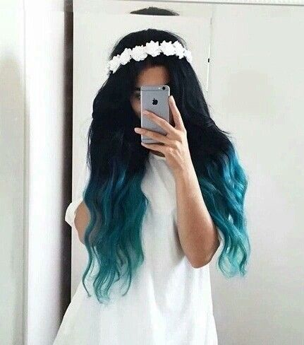 Teal ombre                                                                                                                                                                                 More