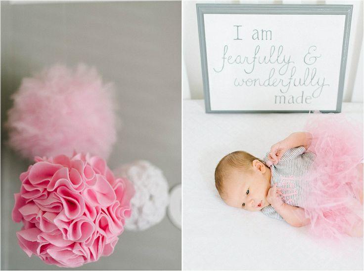 Elizabeth Fogarty, baby girl, pink baby room, tutu