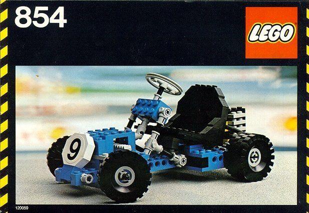 old lego technic instructions