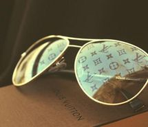 designer-louis-vuitton-shades-sun-glasses - in honor of my sister, she'll love these!