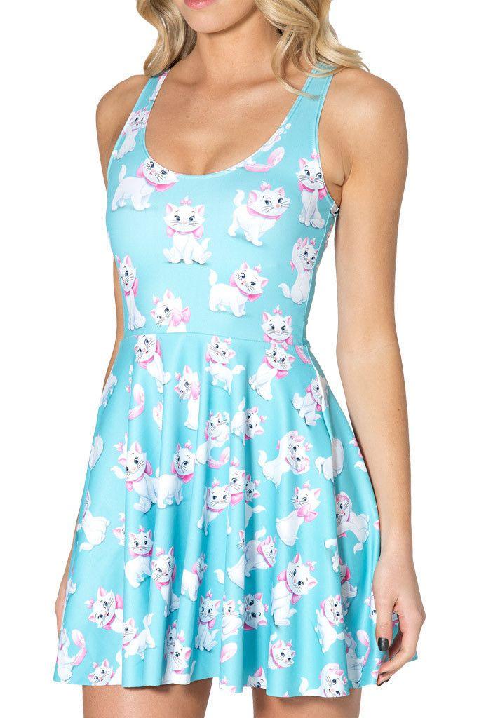 Kitty Dress in Sky Blue