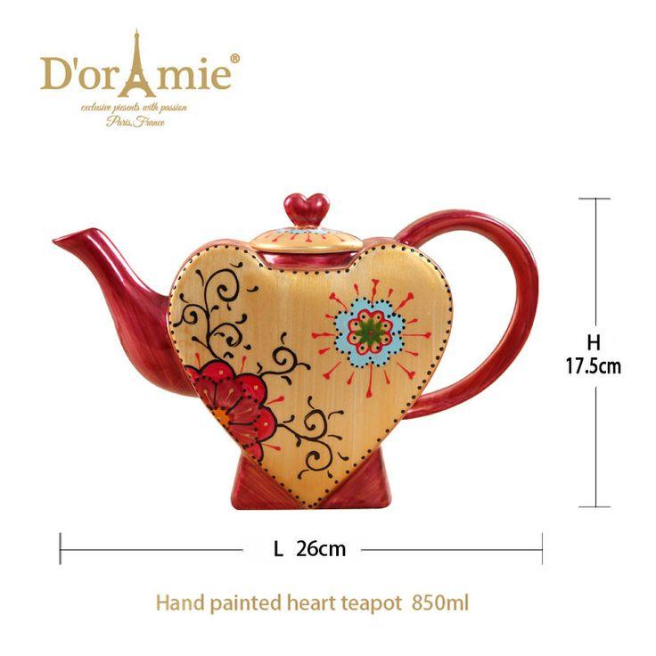 gift ideas for girls wedding heart teapot wedding favors